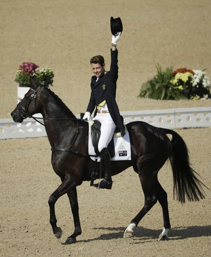 2016 Summer Olympics Equestrian | William Fox-Pitt, of Great Britain, rides…
