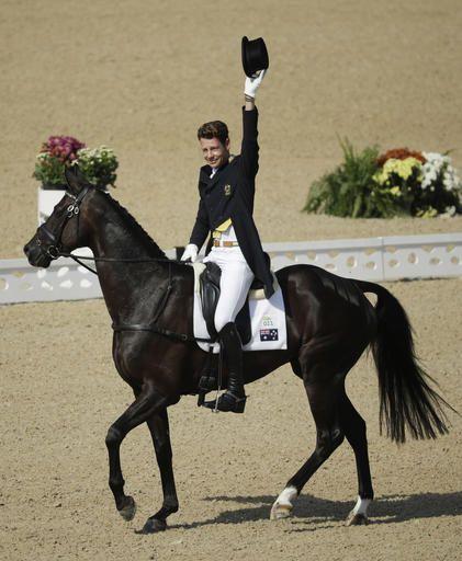 2016 Summer Olympics Equestrian | William Fox-Pitt, of Great Britain, rides…