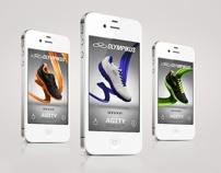 Olympikus Mobile Apps + Website by DHNN Creative Agency , via Behance