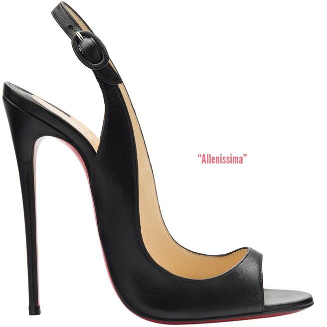 Christian Louboutin 'Allenissima' Slingback Sandal Fall 2014 #CL #Louboutins #Shoes