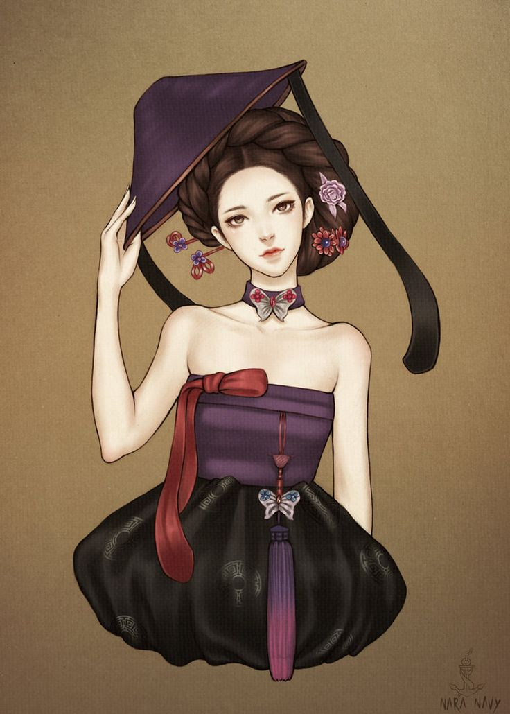 한복 HANBOK, Korean traditional clothes | Gisaeng by naranavy on deviantART