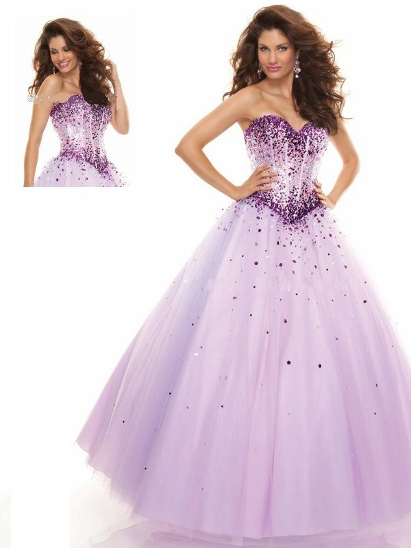 Light Purple Prom Dresses 2013