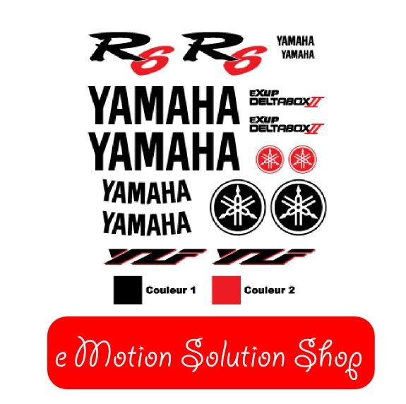 Kit Stickers Yamaha YZF R6