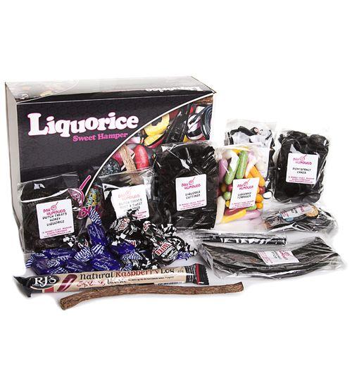 Liquorice Retro Sweets Hamper #TSVDAYCOMP