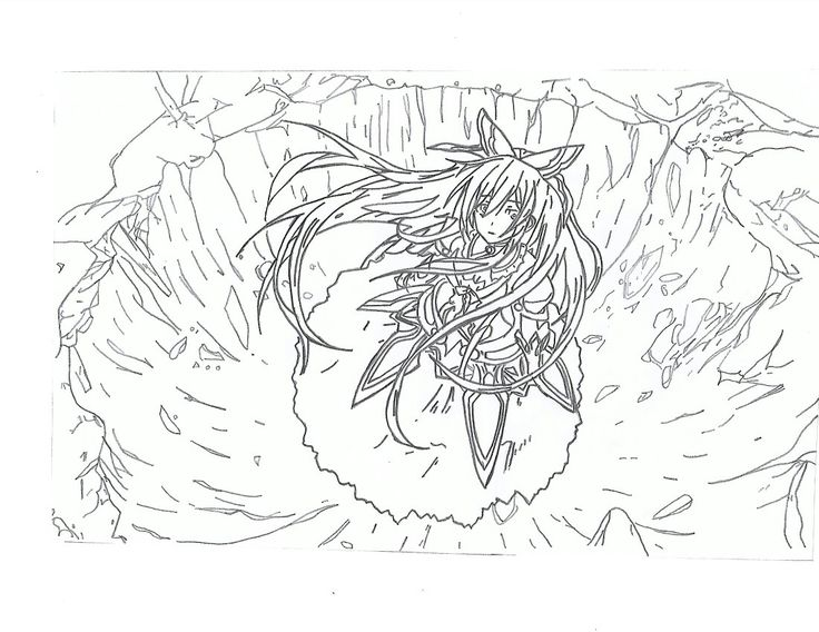 Thoka-Date a Live drawing