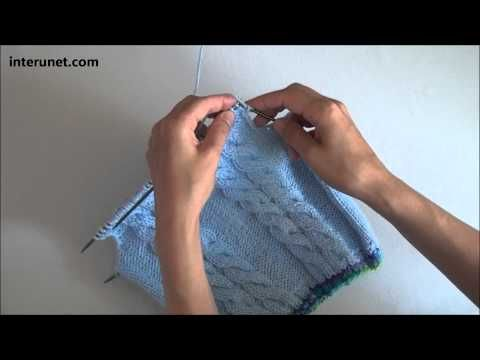 How to Knit Hexagon Stitch - YouTube