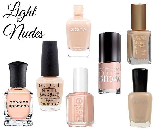 Best Nail Polish Colors For Medium Skin: Best 25+ Nude Nail Polish For Dark Skin Ideas On Pinterest