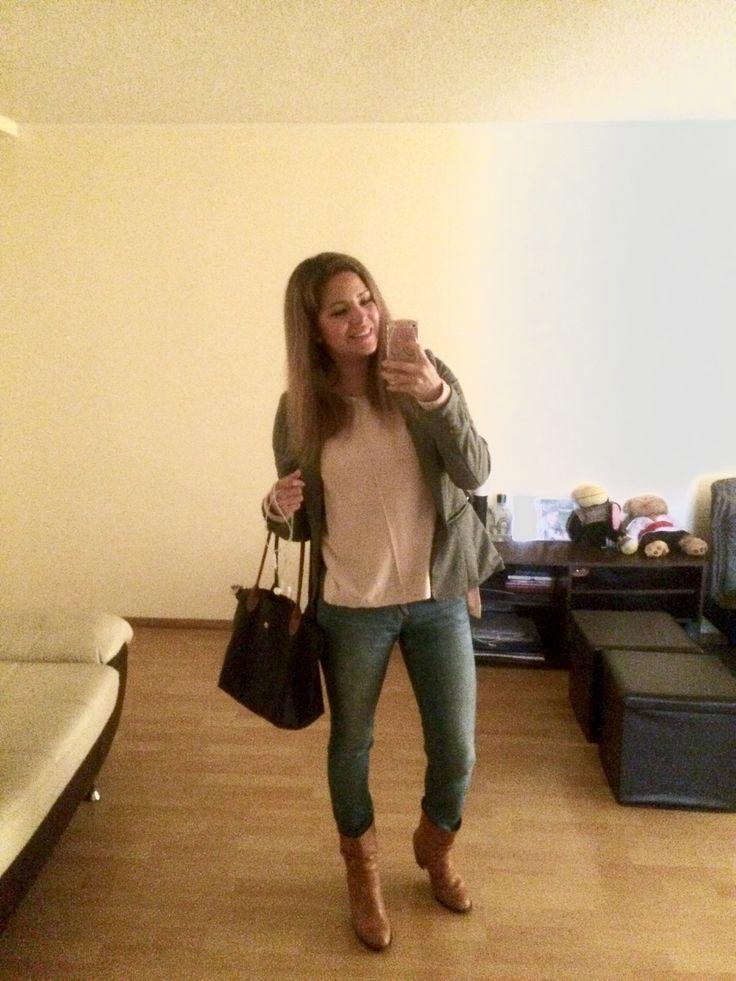 Blue jean, palo rosa