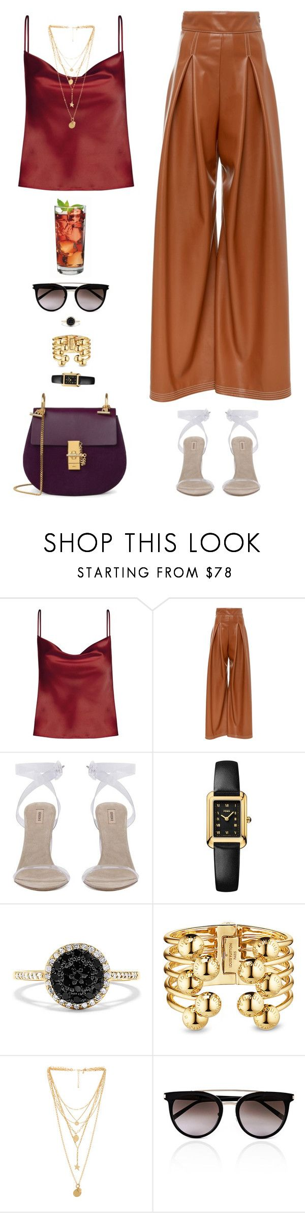 """""""LA"""" by xoxomuty on Polyvore featuring Fendi, Effy Jewelry, Rebecca Minkoff, Calvin Klein, Anchor Hocking, ootd and polyvoreOOTD"""
