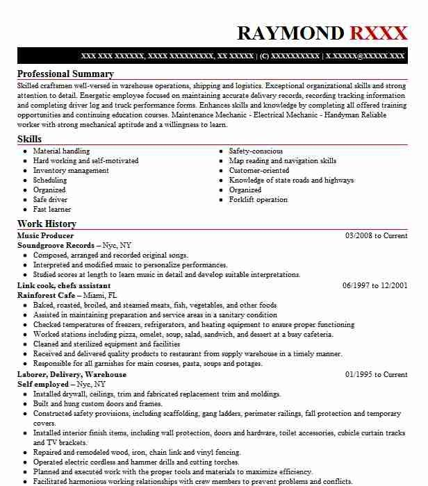 Music Producer Resume Sample Art Resumes Livecareer Cv Template Teacher Cv Template Teacher Resume Examples