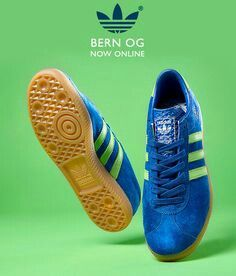 A cracking adidas poster showing one of the Bern re-releases