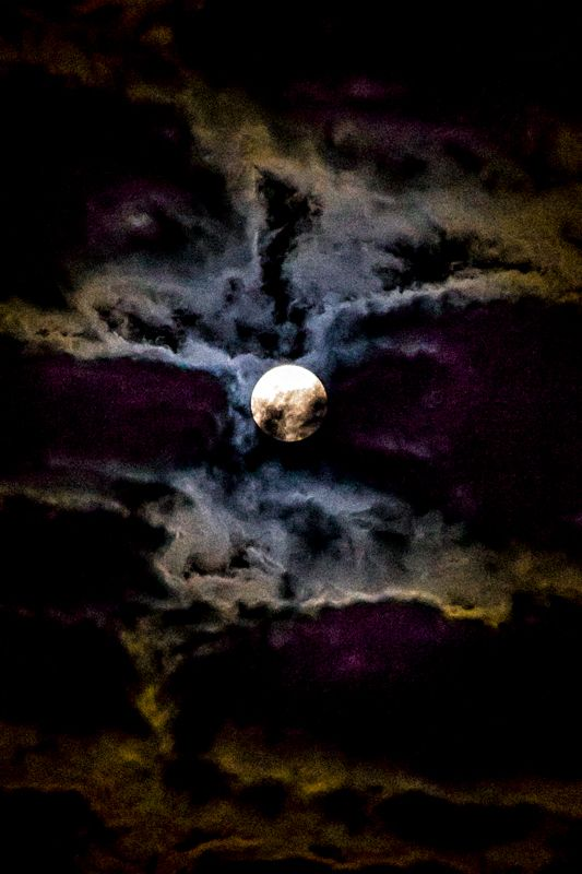 """""""We love the night and its quiet; and there is no night that we love so well as that on which the moon is coffined in clouds."""""""
