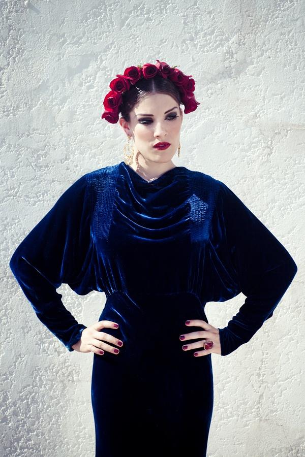"""Lady of Spain""  Creative Director + Stylist | Sydney Ballesteros  Photography | Stacia Lugo  Model | Becca Hammen  Makeup | Tangie Duffey  Hair | Raul Mendoza  Wardrobe | Black Cat Vintage  #vintage #fall2012 #baroque"
