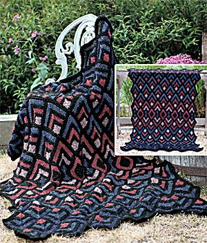116 best Afghan log cabin images on Pinterest | Crochet ...