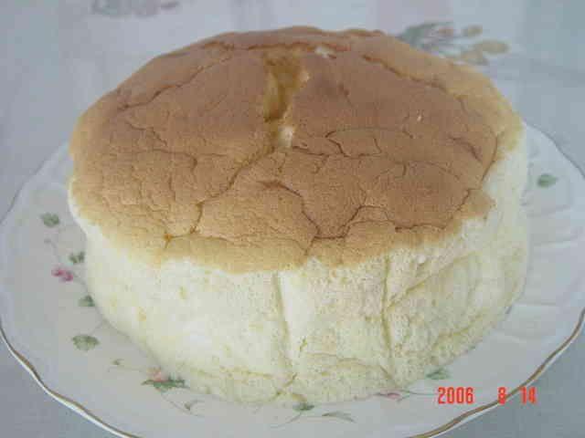 スフレカスピ海ヨーグルトケーキの画像