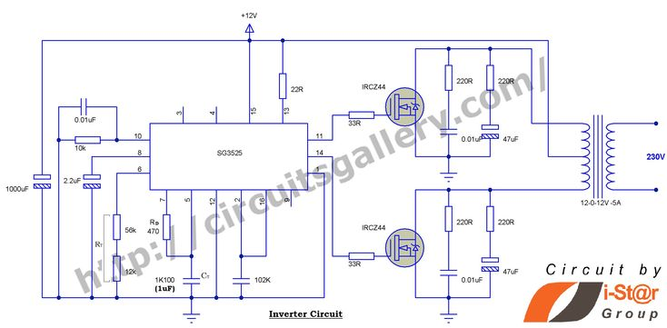 2kva Inverter Circuit Diagram