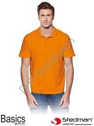 Pomarańczowa koszulka polo STEDMAN ST3000_ORA