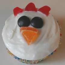 the eyes need to be smaller (mini chips?), these would be great for my chicken loving birthday boy.