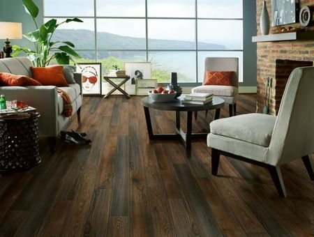 Armstrong Laminate Brindle Oak Popular Brown And Grey