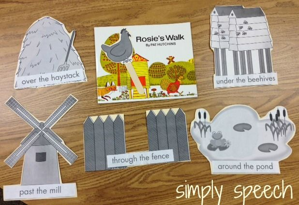 Rosie's Walk - link to printables