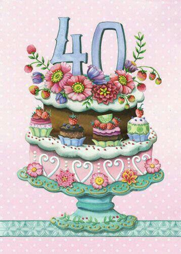 Auguri per i 40 anni...