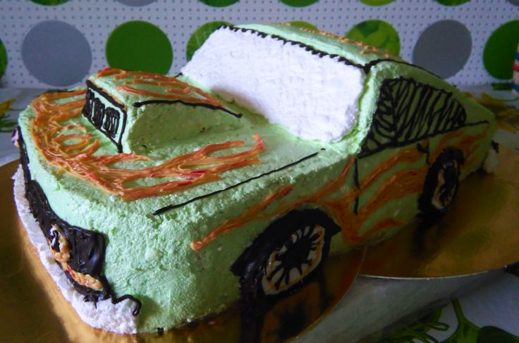 #Cake by Hot wheels