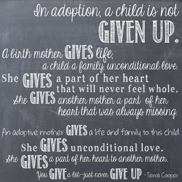 Quotes About Adoption Interesting 511 Best Adoption Quotes Images On Pinterest  Adoption Quotes