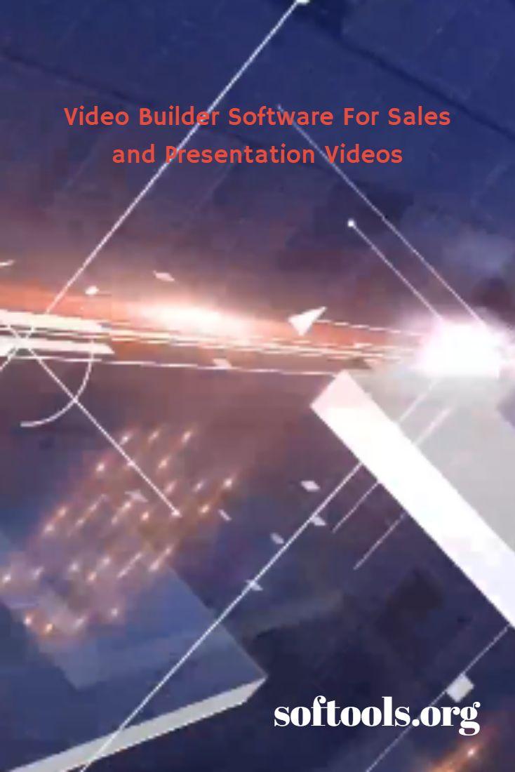VideoBuilder video maker application For Sales and Presentation Videos