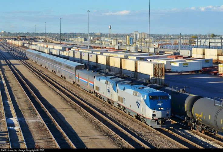 RailPictures.Net Photo: AMTK 79 Amtrak GE P42DC at Denver, Colorado by BUFFIE
