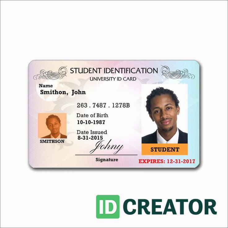 Id Template Free Pleasant Blank Id Card Templates Psd Ai