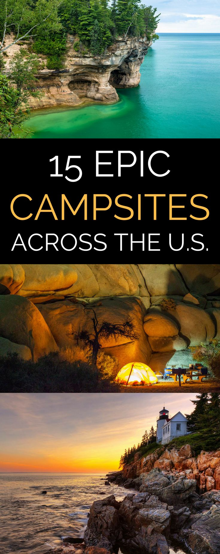 Kick your next camping trip up a notch at one of the most beautiful campsites America has to offer! // AmericanProfile.com