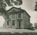 Dr. Peter Allen house photograph :: Ohio Guide Collection.  Kinsman, Trumbull Co., OH.