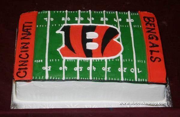Decorating Ideas > Bengals Cake Cakepinscom  Recipes  Pinterest  ~ 215317_Birthday Party Ideas Cincinnati
