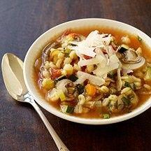 Italian vegetable barley soup
