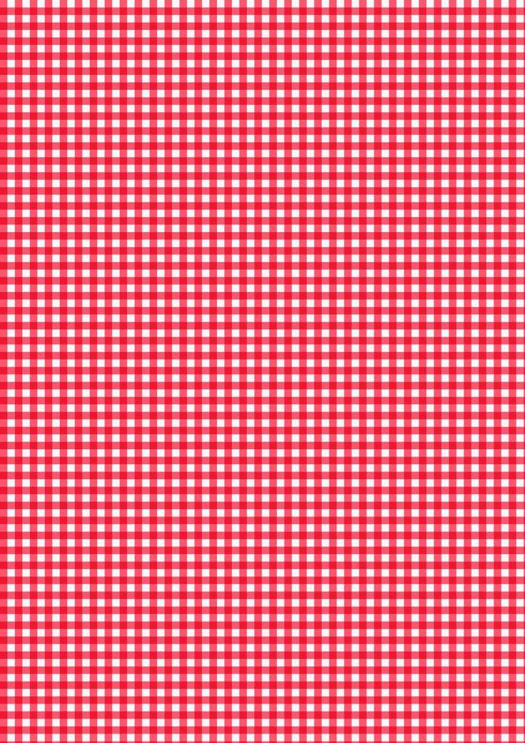 Iphone X Template Wallpaper Cicideko Red Gingham Cicideko Digital Paper Ekose