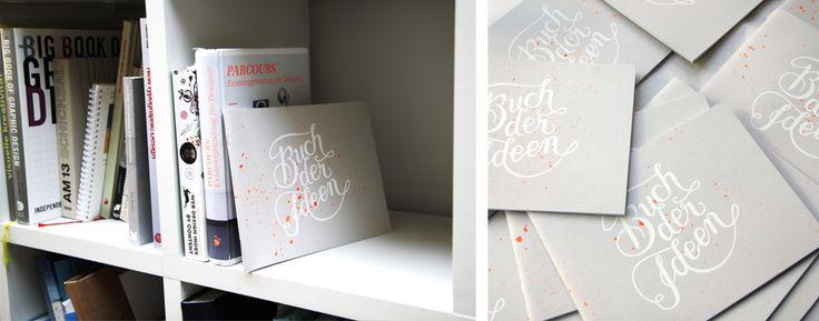 """""""Buch der Ideen"""" – Notizbuch Eduard: 24 x 18 cm mit 72 weiße Seiten aus Recyclingpapier – für Ideen, Skizzen, Notizen."""