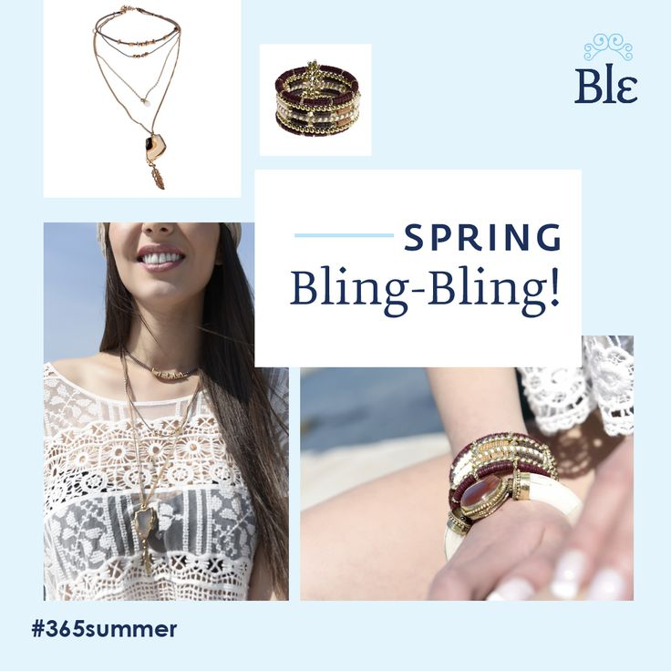 Little details make all the difference, and your jewelleries are always that little detail that completes your look. Discover unique pieces specially designed to differ with simple lines unwrapped in multi levels and warm earthly colours that serve all occasions and styles. Find your new favourite pieces here http://www.ble-shop.com/jewelery.html
