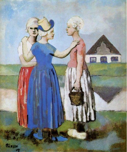 Picasso et le primitivisme, les Demoiselles – Histoire des Arts en Khâgne