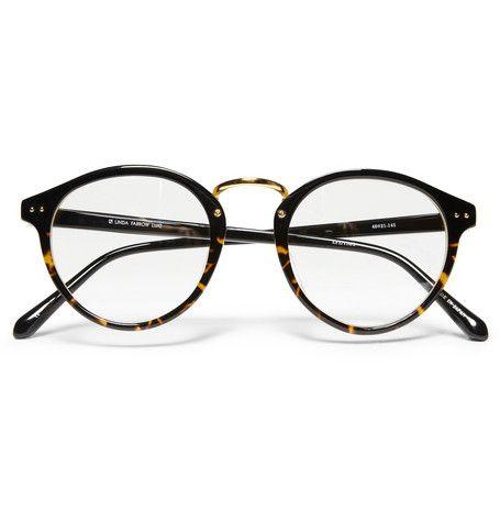 Linda Farrow Luxe Round-Frame Optical Glasses | MR PORTER ($200-500) - Svpply