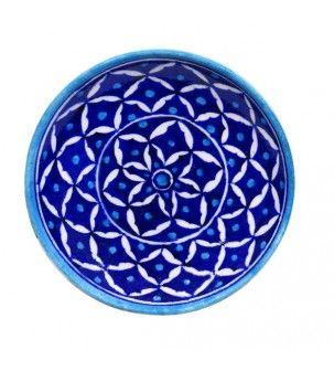 Decorative Plate With Rangoli Design