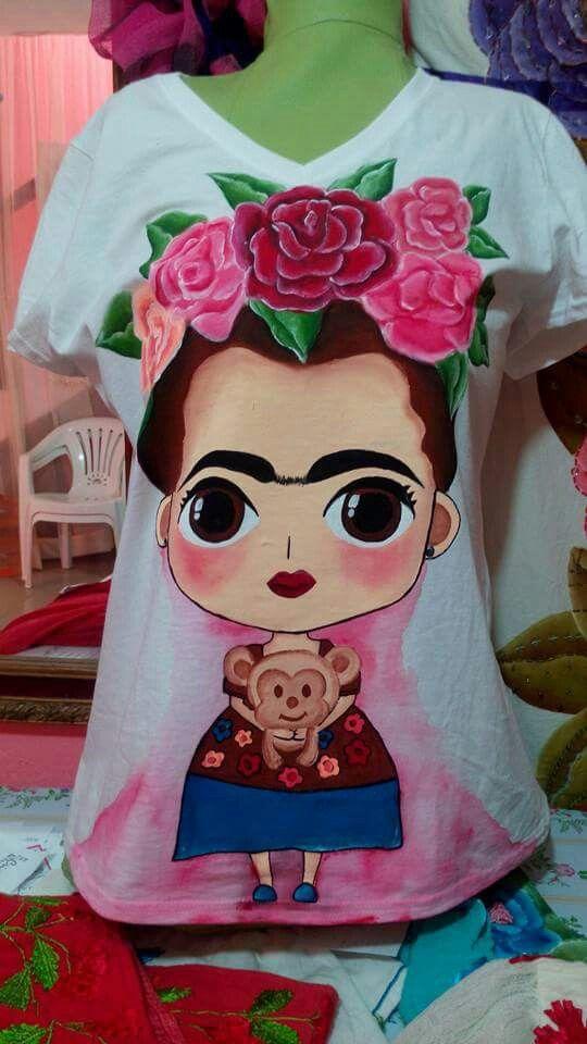 Playera Frida Kahlo.