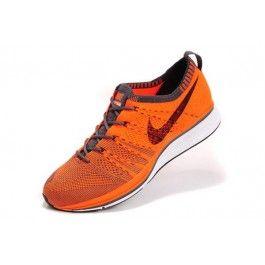 Nike Flyknit Trainer+ Unisex Oransje Svart | Nike billige sko | kjøp Nike sko på nett | Nike online sko | ovostore.com