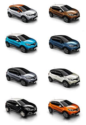 renault captur colores disponibles - Buscar con Google