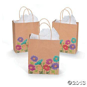 Love In Bloom Wedding Gift Bags
