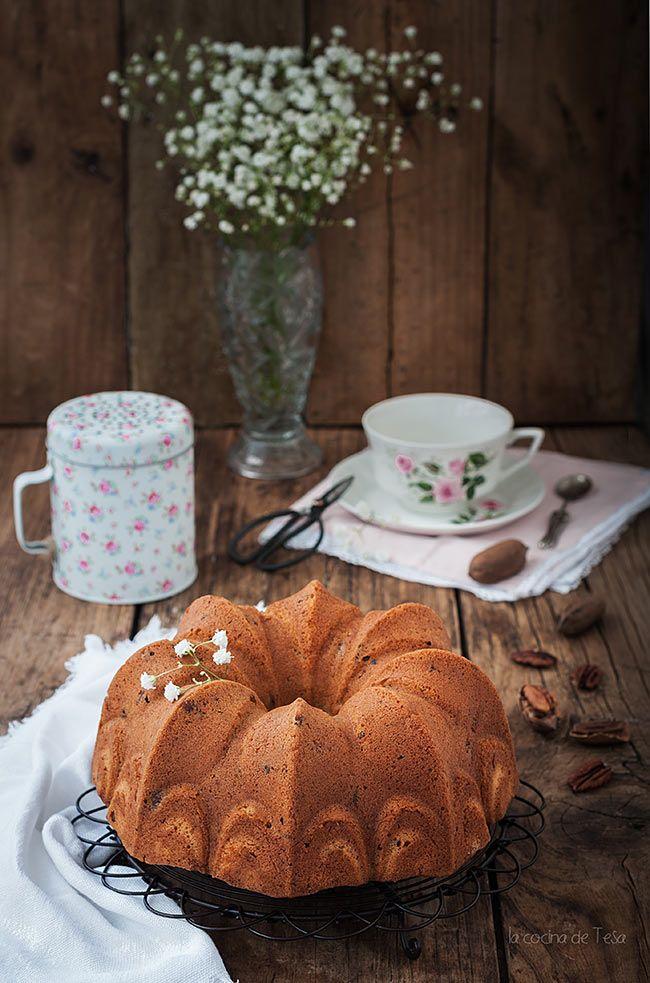 La cocina de Tesa: Bundt cake de nueces pacanas y ron