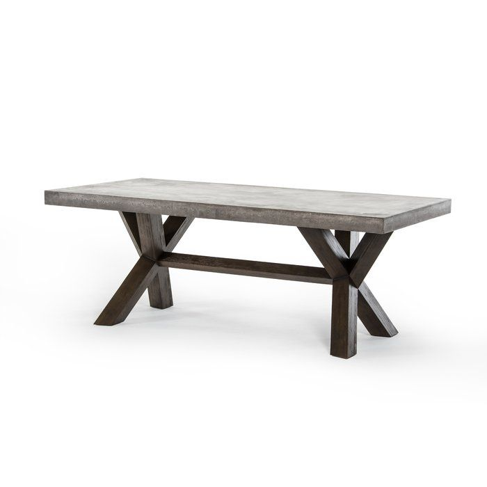 Made With Recycled Concrete, This Dining Table Is An Eco Friendly Choice.  Styrofoam
