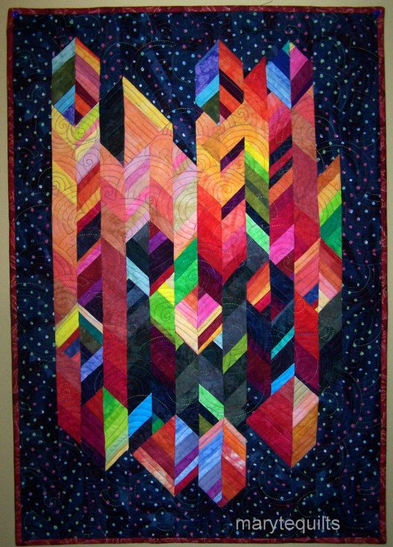 how to make hanging loops for a quilt