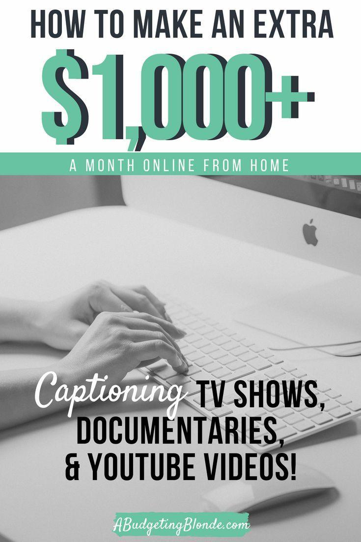 Side Hustle Series Captioning Video Content Make More Money