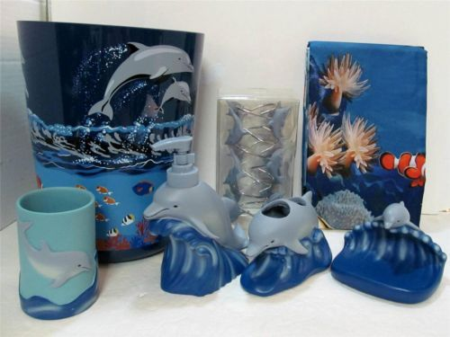 I Can Be At The Sea In My Own Bath Dolphin Sea Bath Set