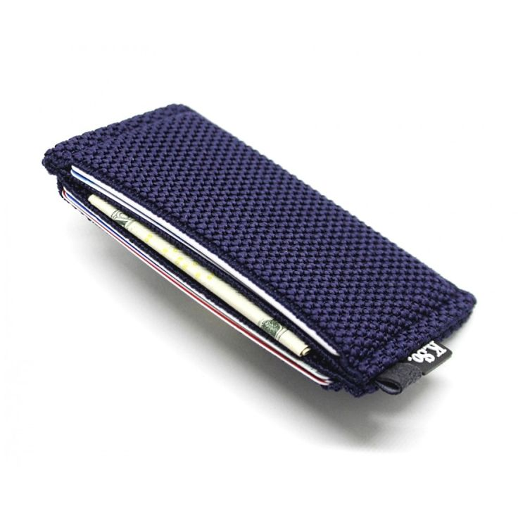 Slim Minimalist Wallet & Card Holder 'Slimz Blue'
